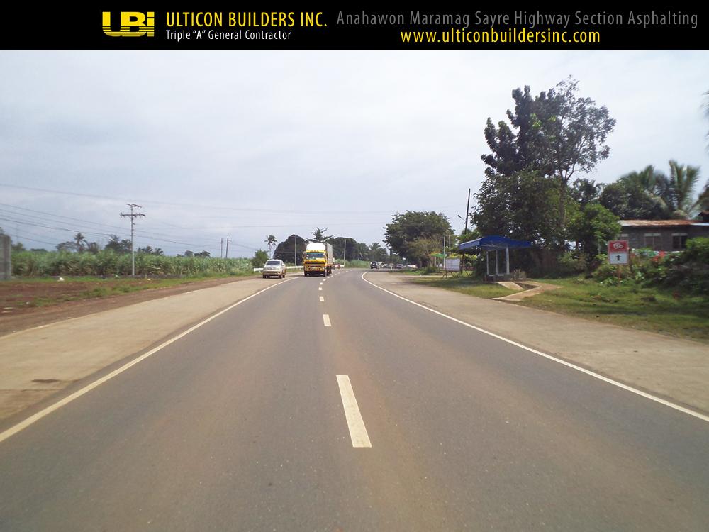 1 Anahawon Maramag Sayre Highway Section Asphalting Ulticon Builders Inc