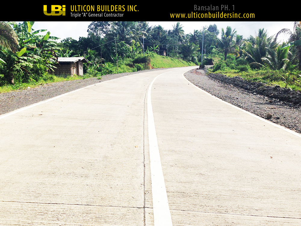1 Bansalan Phase 1 Ulticon Builders Inc