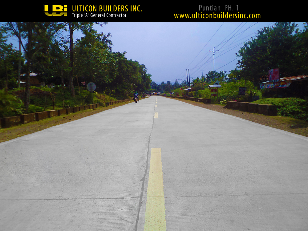 1 Puntian Phase 1 Ulticon Builders Inc