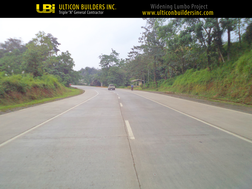 1 Widening Lumbo Project Ulticon Builders Inc
