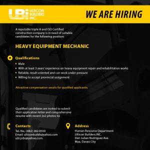HeavyEquipmentMechanic